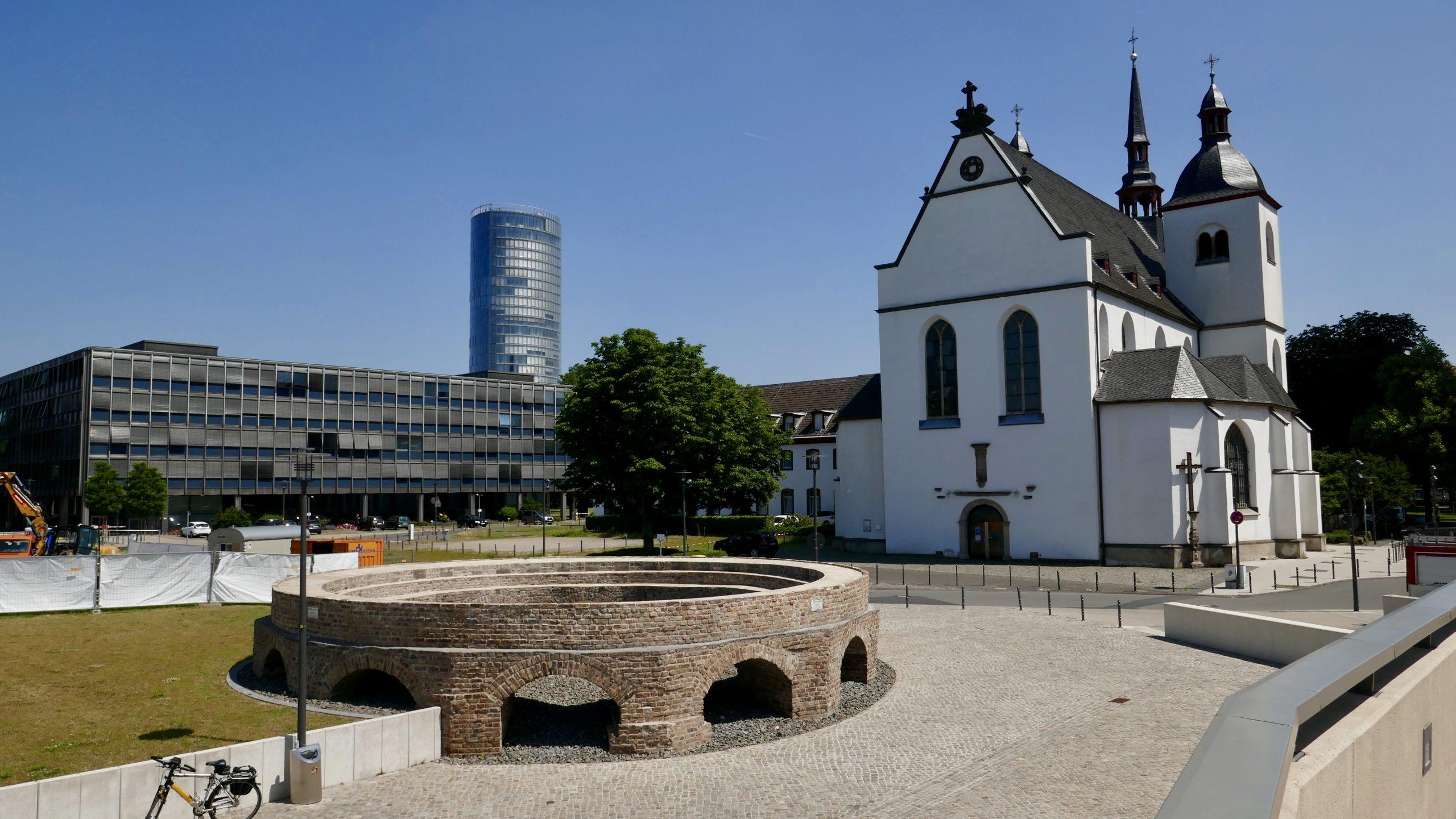 Schinkenkessel, Alt-St-Heribert und LVR, Deutz