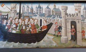 St. Ursula landet in Köln